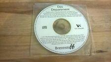 CD Hiphop Das Department - Brennstoff (36 Song) Promo V2 REC disc only