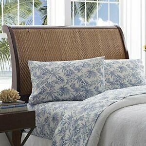 Tommy Bahama Pen and Ink Palm Sheet Set Queen