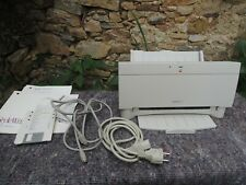 Vintage Printer Apple Style Writer II + Guide+ Floppy Disk Wiring Not Tested