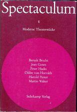 Spectaculum Moderne Theaterstücke Bd. 8 - 1965 - Brecht, Genet, Walser u.a.
