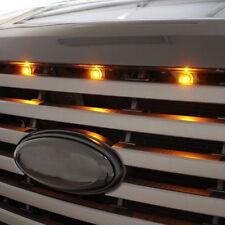 3 x LED Amber Grille Lighting Kits Universal Lamp Fit Truck SUV Ford SVT Raptor