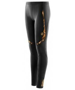 BRAND NEW | SKINS A400 YOUTH COMPRESSION LONG TIGHTS (BLACK/GOLD)