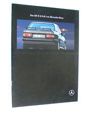 Prospekt Mercedes 190 E 2.5 - 16, 8.1991, 26 Seiten