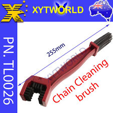 TL0026 Chain Gear Cleaning Brush Tool Motorcycle ATV Dirt Mountain Bike Scrubber