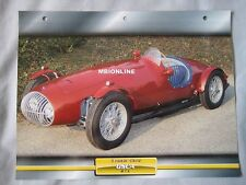OSCA MT4 Dream Cars Card