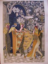Israeli Art - Israel - M. Dauber - Women's Club-1 - lithograph - S/N - L/E