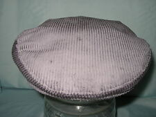 MENS 100% SUMMER COOL COTTON SUN PROTECTION CORDUROY CORD FLAT CAP MADE IN UK
