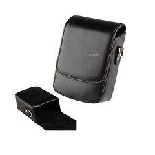 14B Black Learther Camera Case For SONY Cyber-shot DSC HX9V HX7V HX5V H70