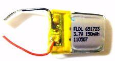 BATTERIA LIPO 3,7V 150 MAH PER HELICOX 6010 FALCON X SWIFT 6020 PHOENIX HIMOTO