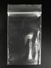 "200 2"" x 3"" Plastic Clear Reclosable Zip Lock Bag 2 Mil"