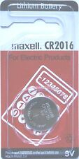 Maxell Lithium-Based CR2016 Single Use Batteries