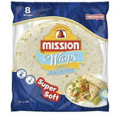 Mission Salt Reduced Wraps 8 pack 567 gram