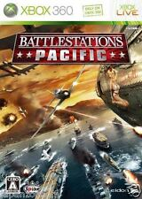 Used Xbox 360 Battlestations Pacific  JAPAN JP JAPANESE JAPONAIS IMPORT