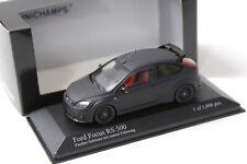 1:43 Minichamps Ford Focus RS 500 Panther black matt NEW bei PREMIUM-MODELCARS