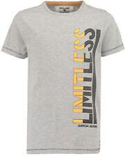 18/19 Camiseta, Gris Regular Ajuste s83411 V. García Tallas gr.140-176
