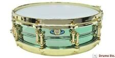 Ludwig Snare Drum LW0414CP Carl Palmer Signature Lacquered Brass