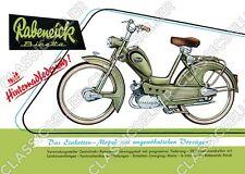 Rabeneick binetta ciclomotor póster cartel imagen affiche