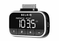 Belkin Tune FM Transmitter For iPhone 4 4S 3GS iPod Touch Nano NEW F8Z179eaSTD