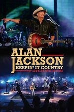 ALAN JACKSON KEEPIN' IT COUNTRY LIVE AT RED ROCKS DVD 2016