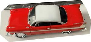 Christine 1958 Plymouth Fury (Evil Version) in red, 1:24 scale model, Greenlight