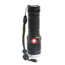 USB Rechargeable T6 LED 26650 Zoom Torch 3 Mode Flashlight Camping Lamp Aluminum
