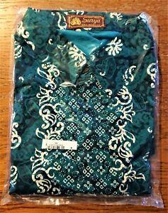 Original Batik-Hemd aus Indonesien Insel Java