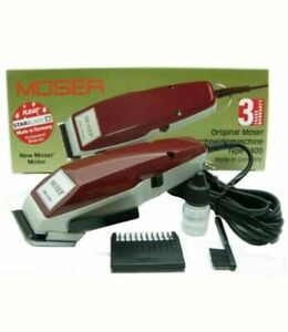 MOSER 1400 CLASSIC TAGLIACAPELLI MADE IN GERMANY ALZO N.1 TOSATRICE CAPELLI