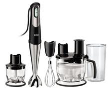 Braun Multiquick 7 - MQ 785 Patisserie Plus Stabmixer + Küchenmaschine schwarz