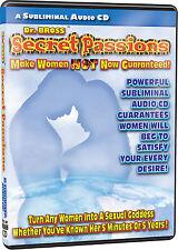 Secret Passions Subliminal CD Makes Women Hot