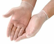 Box of 20 Powder Free Disposable Gloves Latex Vinyl Multi Purpose size Medium UK
