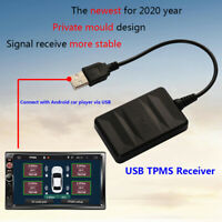 TY06N USB Android TPMS Externe Sensor Auto Reifen Druck Temp Monitoring Anlage