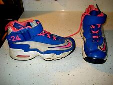 NIKE AIR GRIFFEY MAX 1 Girl's Athletic Shoes Size 4.5 Y  PINK BLUE WHITE