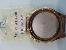 "Cassa orologio  placcata oro Ref. 72 AS 1130 plat.dir 13"""