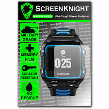 ScreenKnight Garmin Forerunner 920XT SCREEN PROTECTOR invisible military shield