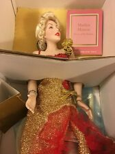 "Franklin Mint Marilyn Monroe Porcelain Doll ""River Of No Return"""