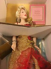 """Franklin Mint Marilyn Monroe Porcelain Doll """"River Of No Return"""""""