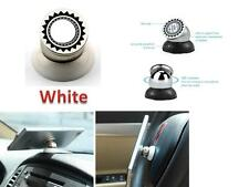 white Universal Mobile Cell Phone Car Magnetic Dash Mount Holder - iPhone 6 plus