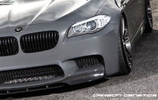 Carbon Fibre V Style 2 Front Lip Splitter Spoiler For BMW F10 M5