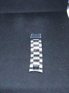 Michael Kors MK Stainless Steel Silver Bracelet Half Watch Band 24mm Z422
