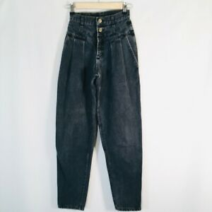VTG 80's Lee Mom Jeans Super High waisted rise Womens Size 3 denim UNION MADE