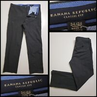 Banana Republic Men's Casual Formal Career Dress Pants Size 34