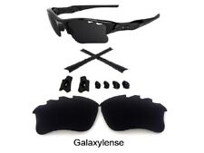 Galaxy Replacement Lenses + Rubber Kits For Oakley Flak Jacket XLJ VENTED Black