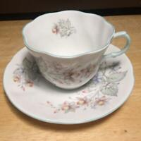 Vintage Rosina Queen's Cup & Saucer Fine Bone China Made in England
