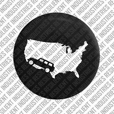 JEEP USA SPARE TIRE COVER Jeep Wrangler Adventure JK TJ LJ YJ CJ UNLIMITED