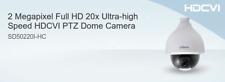 CAMARA CCTV Dahua DOMO PTZ HDCVI  EXT 1080P Z 20X D/N mod.DH-SD50220I-HC