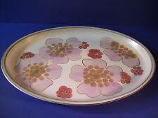 Denby Pottery Gypsy Oval Serving Platter England Retro Vintage