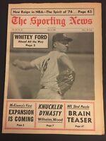 1967 Sporting News NEW YORK Yankees WHITEY FORD No Label FREE SHIPPING NY Yanks