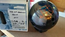 USED 14LB # Brunswick Prism Warp Hybrid Reactive Resin Bowling Ball 1054