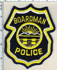 Boardman Police (Ohio) Shoulder Patch from 1992