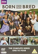 Born and Bred Complete Series 1-4 5036193080159 With Richard Wilson Region 2
